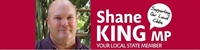 Shane King - Member for Kurwongbah