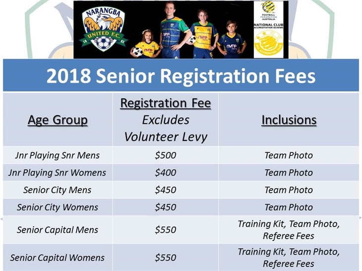 Senior  Rego  Prices V2